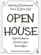 Open House - poster